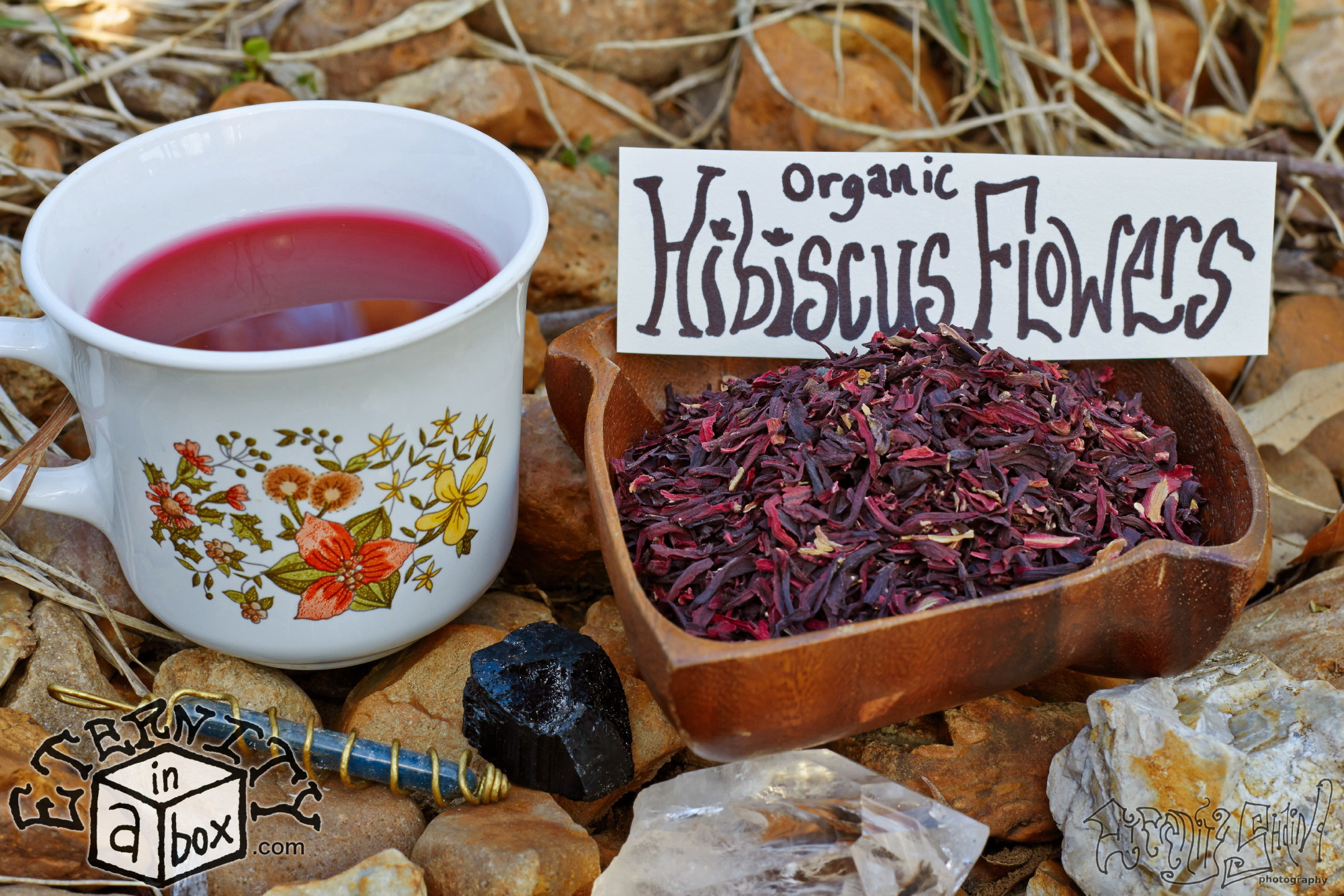 Hibiscus Flowers Organic Eternity In A Box Botanicals